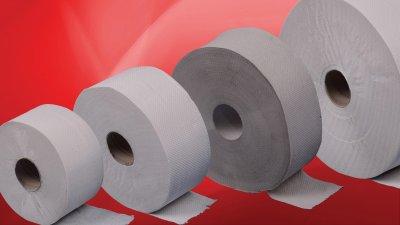 Ipari tekercses toalettpapírok