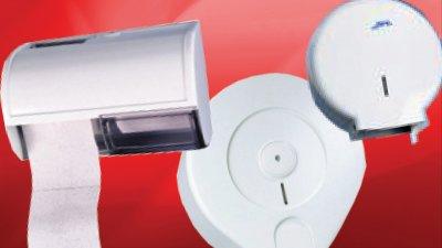 Tekercses toalettpapír adagolók