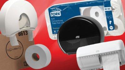 Tekercses toalettpapír rendszerek