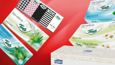 Papírzsebkendők, kozmetikai kendők és egyéb higiéniai termékek