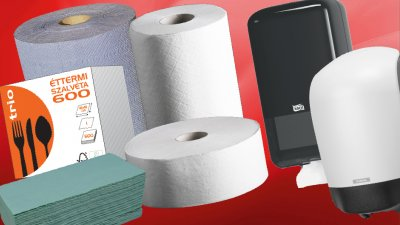 Higiéniai papíráruk és csomagolóanyagok